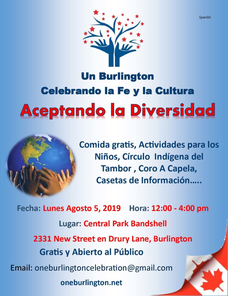 One Burlington Information 2019 Spanish