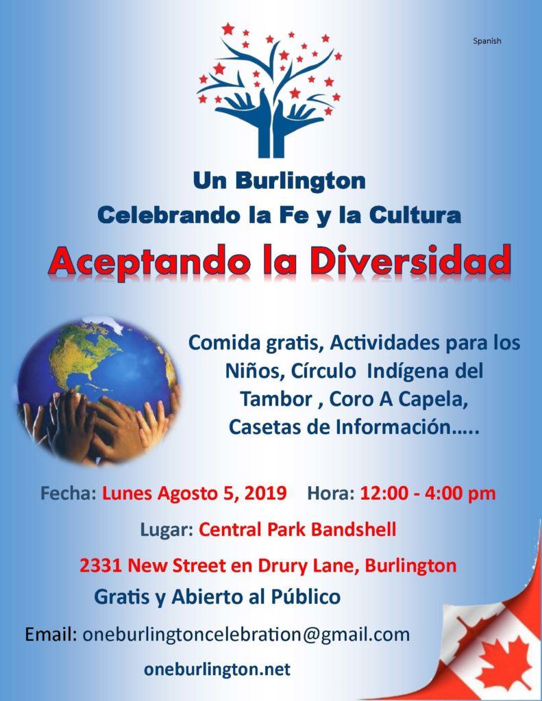 One Burlington Information 2019 Spanish